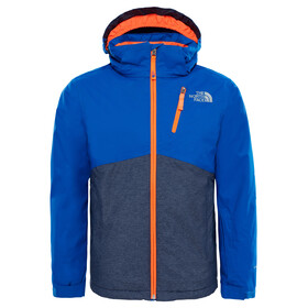 """The North Face Youth Snowquest Plus Jacket Bright Cobalt Blue"""